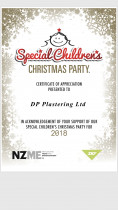 Special children's christmas party - Proud sponser of Special Children's christmas party