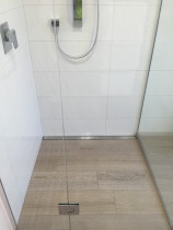 Strip Drain Shower by DTN Tiling Ltd