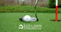call Eco Lawn Limited for Artificial Grass, Artificial Turf, Artificial Lawn, Golf Putt, Golf Putting, Sports Turf - We supply and install turf specifically designed for golf putting greens.