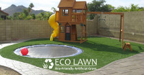 call Eco Lawn Limited for Playground Turf, Playground Grass, Playground Lawn, Artificial Grass, Artificial Turf, Artificial Lawn - Artificial grass designed specifically for kids playgrounds.