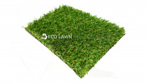 Wide Leaf 40mm supplied by Eco Lawn Limited - Wide Leaf is perfect for high traffic commercial areas. With a combination of two yarn blade types that produces a natural, life like broad leaf lawn which provides great durability and comfort. Wide Leaf will stand the test of time.