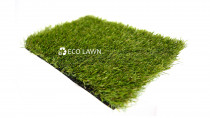 Eco Prime 40mm installed by Eco Lawn Limited - A 'real lawn' look is created by this very dense two tone weave. Eco Prime looks very similar to Eco Standard however it  has a much higher stitch rate. The 40mm  blades of grass create a freshly mowed look, thick and lush underfoot. Our company favorite.