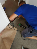 Carpet and underlay supply and install,