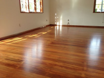 Satin Finish on a Northcote Property by Endless Flooring