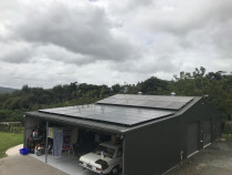Large 41 Panel PV install in Northwest Auckland