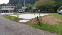 Concrete Parking pad