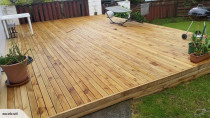 A Deck we did to cover up an ugly old patio in New Lynn
