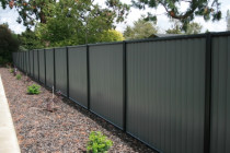 Mistral steel fence completed by Fencemate Fencing Solutions