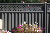 Heritage steel fence completed by Fencemate Fencing Solutions