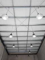 LED High bays - More high bay LED's with dimmers.