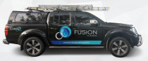 Fusion Plumbing work vehicle