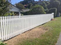 New White Picket Fence