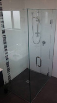 Frameless Shower by Glass and Joinery Services