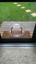 Cat Door Installation by Glass and Joinery Services