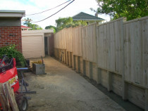 Fence and Retaining