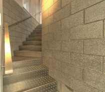 block/checker plate stairs by Goodwin Construction Ltd