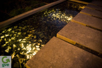 Underwater lighting by Green Van Electrical - Light up your outdoor pond or water feature