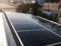 Solar installation at Trentham Army Camp by Green Van Electrical