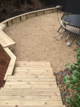 Ground Up Landscaping - retaining