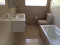 Handy Home Solutions - Complete bathroom renovation - tiles and new fixtures and fittings