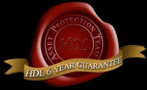 We provide a six year guarantee   - HDL Painting & Decorating