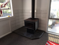 Fire place - Look this standout Tiling done at fireplace wall by HEK team