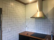 Diagonal shape - This diagonal shape done by HEK Tiling recently. We do all sort of tiling shapes.