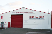 Front of building at Heretaunga Collision Repair Centre