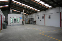 Paint Workshop of Heretaunga Collision Repair Centre