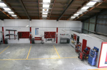 Panel workshop of Heretaunga Collision Repair Centre