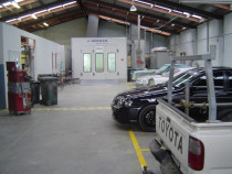 inside Heretaunga Collision Repair Centre