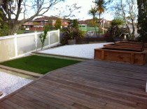 Saint Johns Deck and landscaping