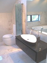 Deluxe bathroom - We completed 3 bathrooms to this standard for this very happy client