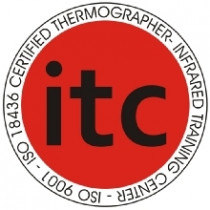 ITC Trained - Our Inspectors are ITC (Infrared Training Center).