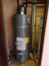 Installation of Rudd hot water cylinder by JG Plumbing