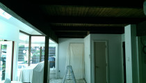 Before work done by JI Painting Contractors Limited