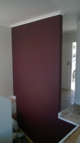 Interior Painting - Feature Wall by Silevan Painter