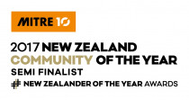 Mitre10 Community of the Year Semi Finalist 2017