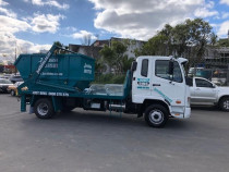 Just Bins Truck - Truck with 7m3 Bin