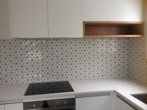 Mosaic Cube / Star depending on which way it is laid by Just Splashbacks - Female Tiler