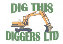 Dig This logo - Logo for our excavations company Dig This Diggers Ltd