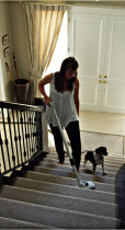 Kiwivac central vacuums make vacuuming stairs a breeze - Vacuuming stairs with a central vacuum is much easier and safer than using a portable vacuum