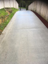 Driveway after - after picture