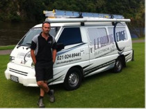 Leading Edge Van - Our trusty Leading Edge van.