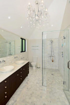 We specialise in bathroom  and high end renovations at Leck Electrical Ltd