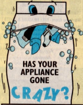 Leppard Electrical Appliance Services - HAS YOUR APPLIANCE GONE CRAZY!!!!!  CALL US - COS THERE AIN'T NO SPOTS ON US!!!  ;)