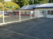 Fencing by Buildstrong - Made custom self closing gates for a Kindergarten.