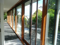 Double Glazing by Buildstrong - Retro fitted double glazing into these floor to ceiling windows and doors