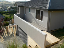 Membrane deck and parapet by Buildstrong - Repair house, new membrane deck and parapet on cavity battern.