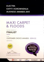 2015 Electra Business Awards Finalist for Customer Choice